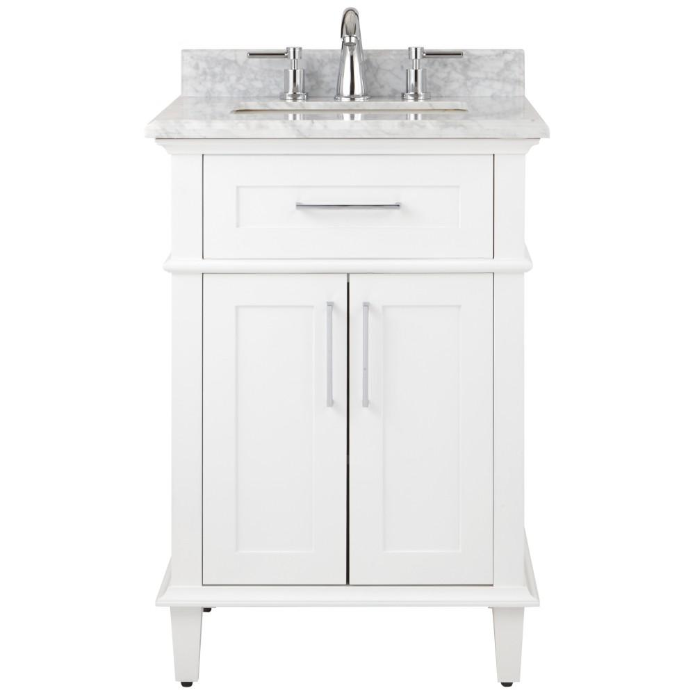 top collection bath white marble the decorators w home depot with vanity winslow antique in pin