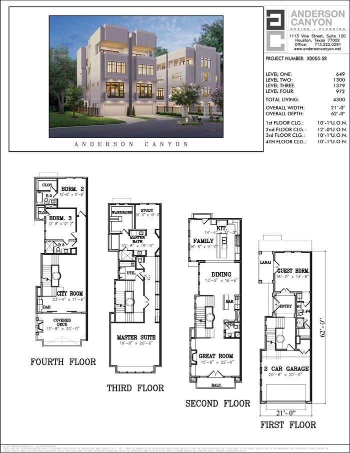 Buy townhouse plans online cool townhome designs - Online floor plan designer ...