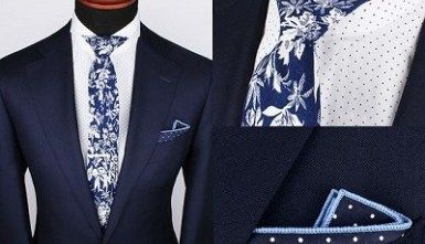 A Guide to Matching Ties and Pocket Squares #pocketsquares