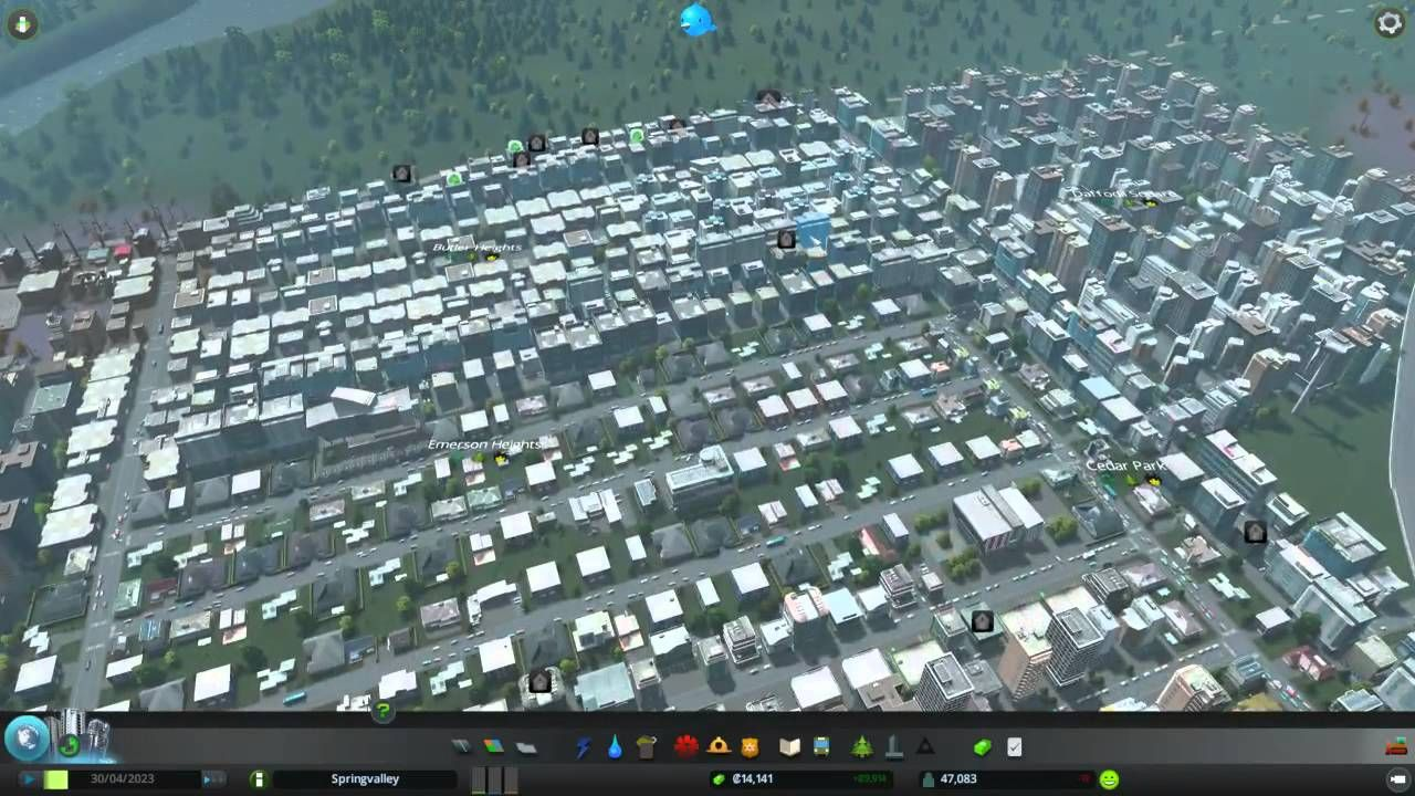 Cities Skylines Game Play Part 2 Pc Game Similar To Sim City City Skylines Game City Skyline Games To Play