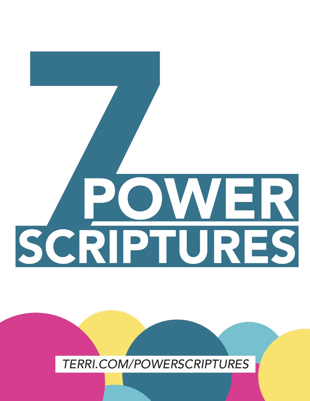 7 Power Scriptures Terri Savelle Foy Ministries