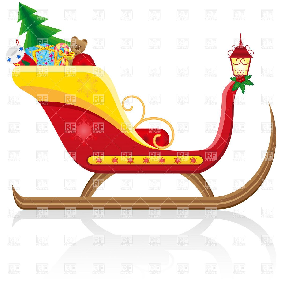 old fashioned santa claus santa claus christmas sleigh with gifts rh pinterest ca santa sleigh clipart santa and his sleigh clipart