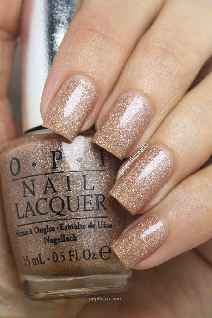 OPI DS Classic – grape fizz nails | Gold | Pinterest