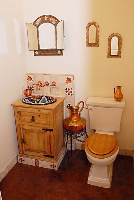 Gallery A Beautiful Monolithic Dome Home Spanish Style Bathrooms Bathroom Styling Mexican Home Decor