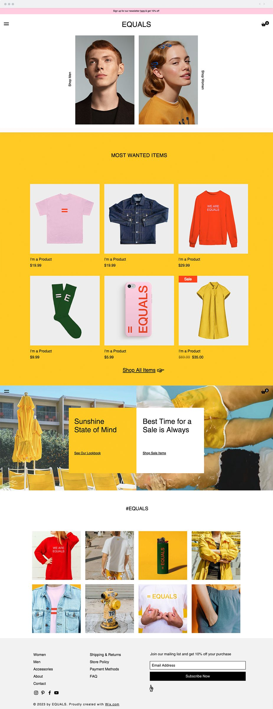 Urban Fashion Website Template You Offer The Latest Trends And