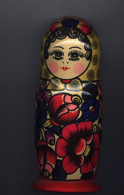 Matryoshka doll by ali eminov, via Flickr