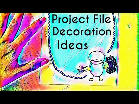 Project File Paper Decoration Ideas Borders For Projects How To