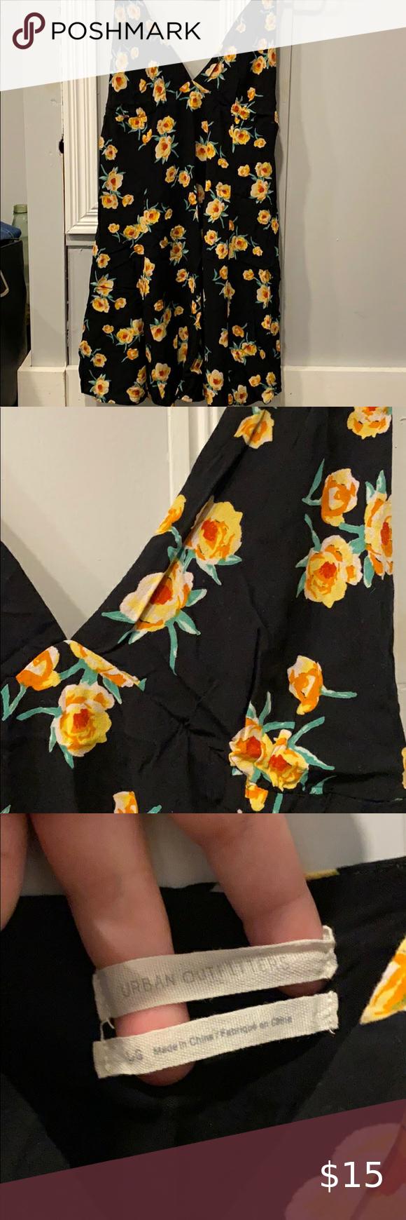 Uo Floral Dress Floral Dress Black Floral Dress Floral [ 1740 x 580 Pixel ]