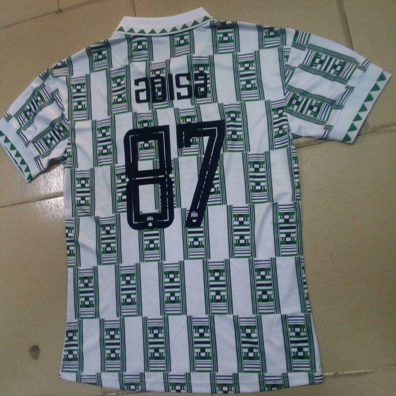 Your Jersey Is Ready Nigeria Away 1994 Jersey Classic Ay Threads Got You Jersey Abujafashion Abuja Luxurylifestyle Luxury Worldcup2018 Worldcup Nige