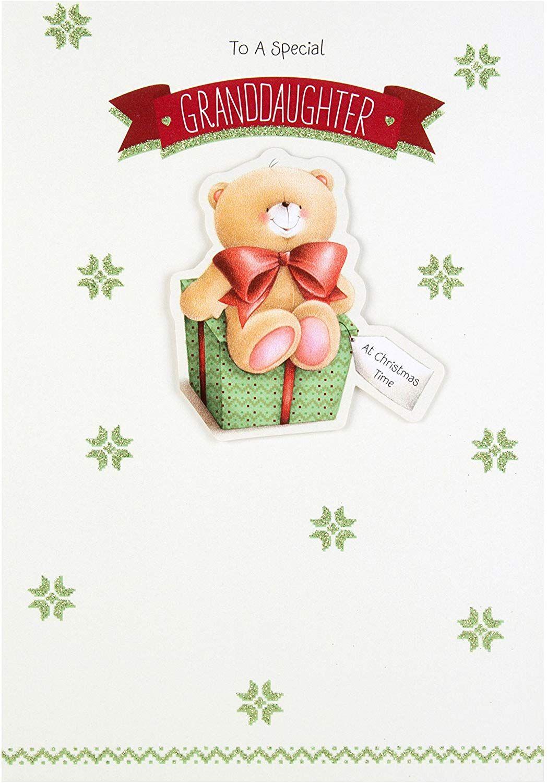Hallmark forever friends christmas card for granddaughter