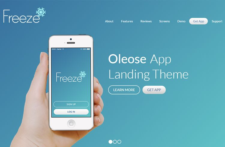 Best Free Bootstrap Landing Page Templates Web Development - Bootstrap landing page template