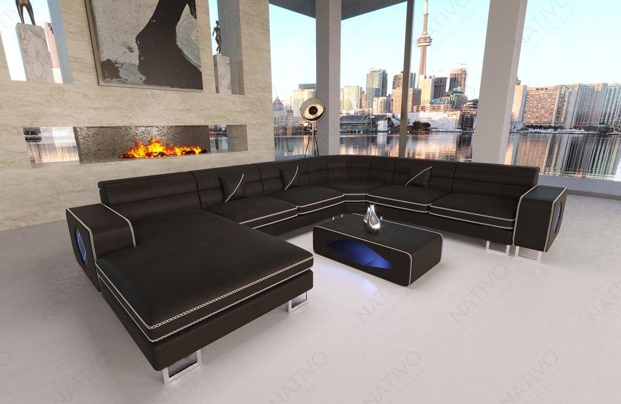 Ledersofa Gregory Xxl Bei Nativo Mobel Oesterreich Sofa Design Ledersofa Und Eco Leder