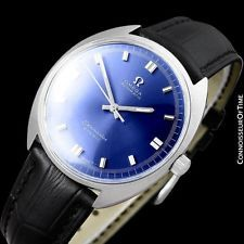 bf65fa50dc4 1960 s OMEGA Vintage Mens Seamaster Cosmic Retro Cal. 552 Automatic Watch -  SS
