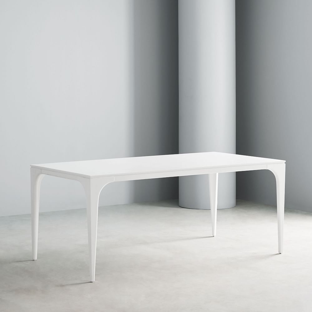 Adam Court Dining Table White Lacquer Lacquer Dining Table Dining Table White Kitchen Table