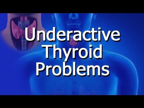 Underactive Thyroid Problems