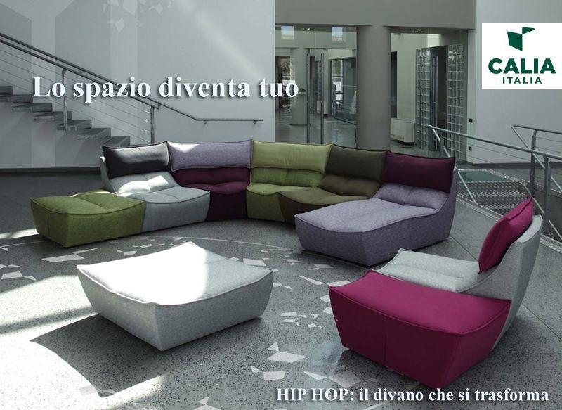 Calia Italia Divano Hip Hop Lo spazio diventa tuo | Sofa ...