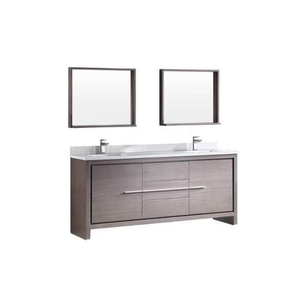 Fresca Fvn8172 72 Wide Free Standing Vanity Set With Plywood