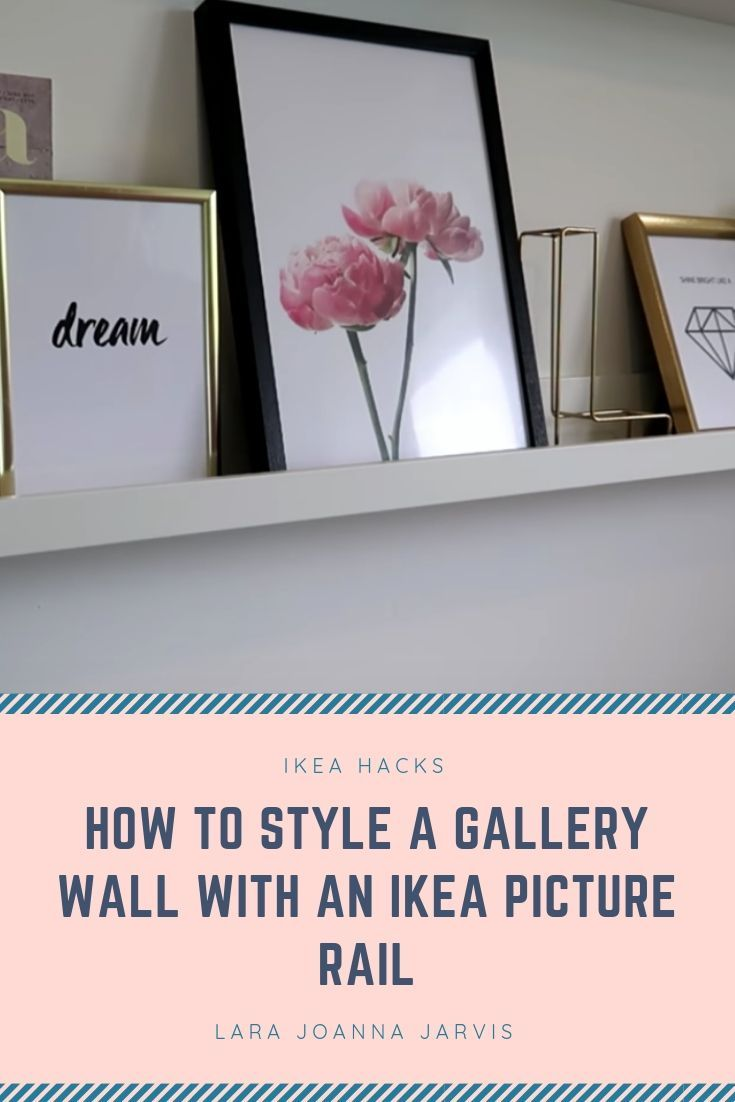 Best How To Style A Gallery Wall With An Ikea Picture Rail Make Your Home Look Sleek And Modern 400 x 300