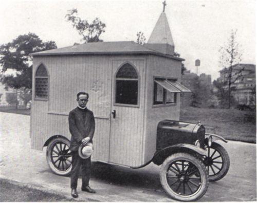 Ford Model T Car Truck Camper Photo 2 1923 8X10
