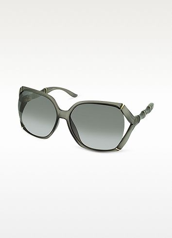 e5927165a1aa Gucci Bamboo Oversized Square Frame Sunglasses on shopstyle.com ...