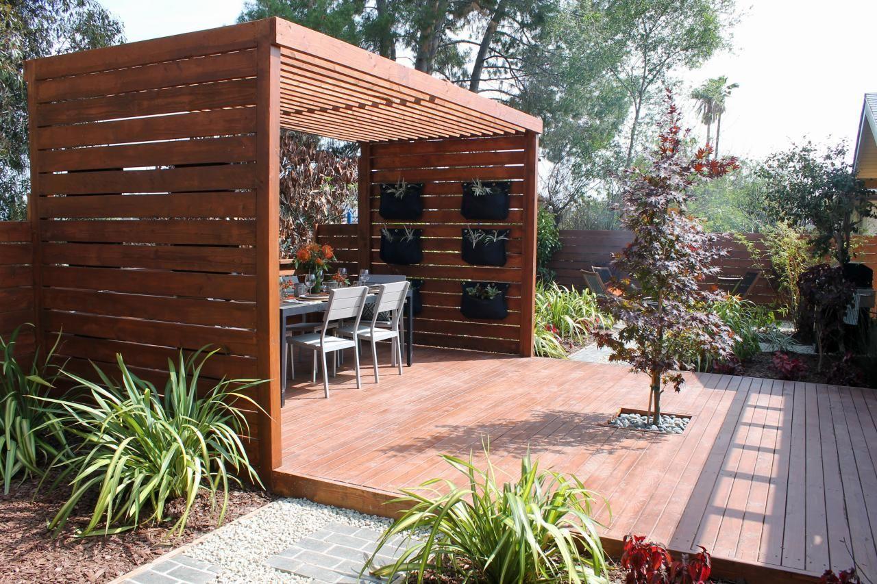 Decks and Patio With Pergolas Building a pergola