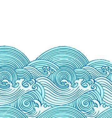 Dibujos De Olas Del Mar A Lapiz Mas Olas De Mar Dibujo Del Mar Ilustracion De Mar