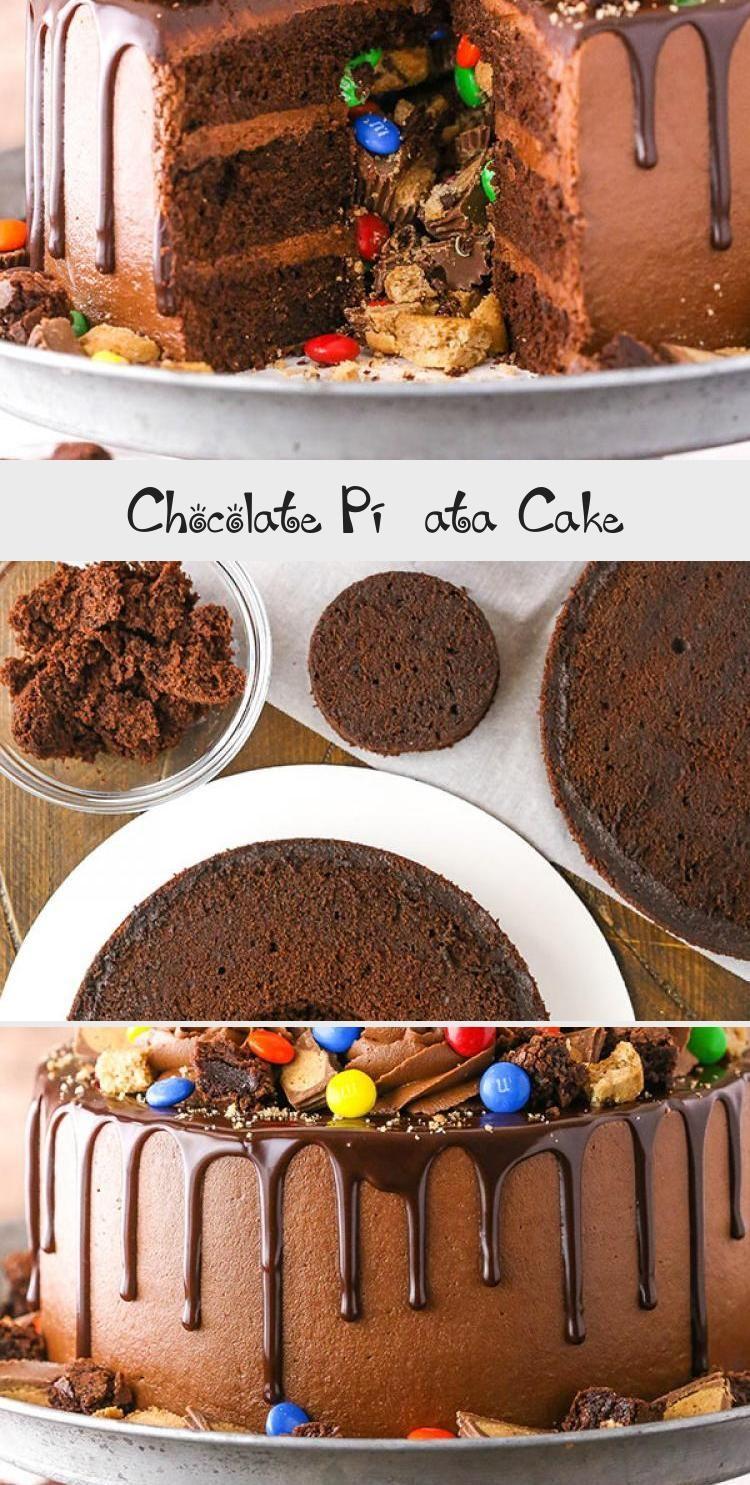 Photo of Chocolate Piñata Cake – Life Love and Sugar #PinataKuchenSchoko #PinataKuchenEi…