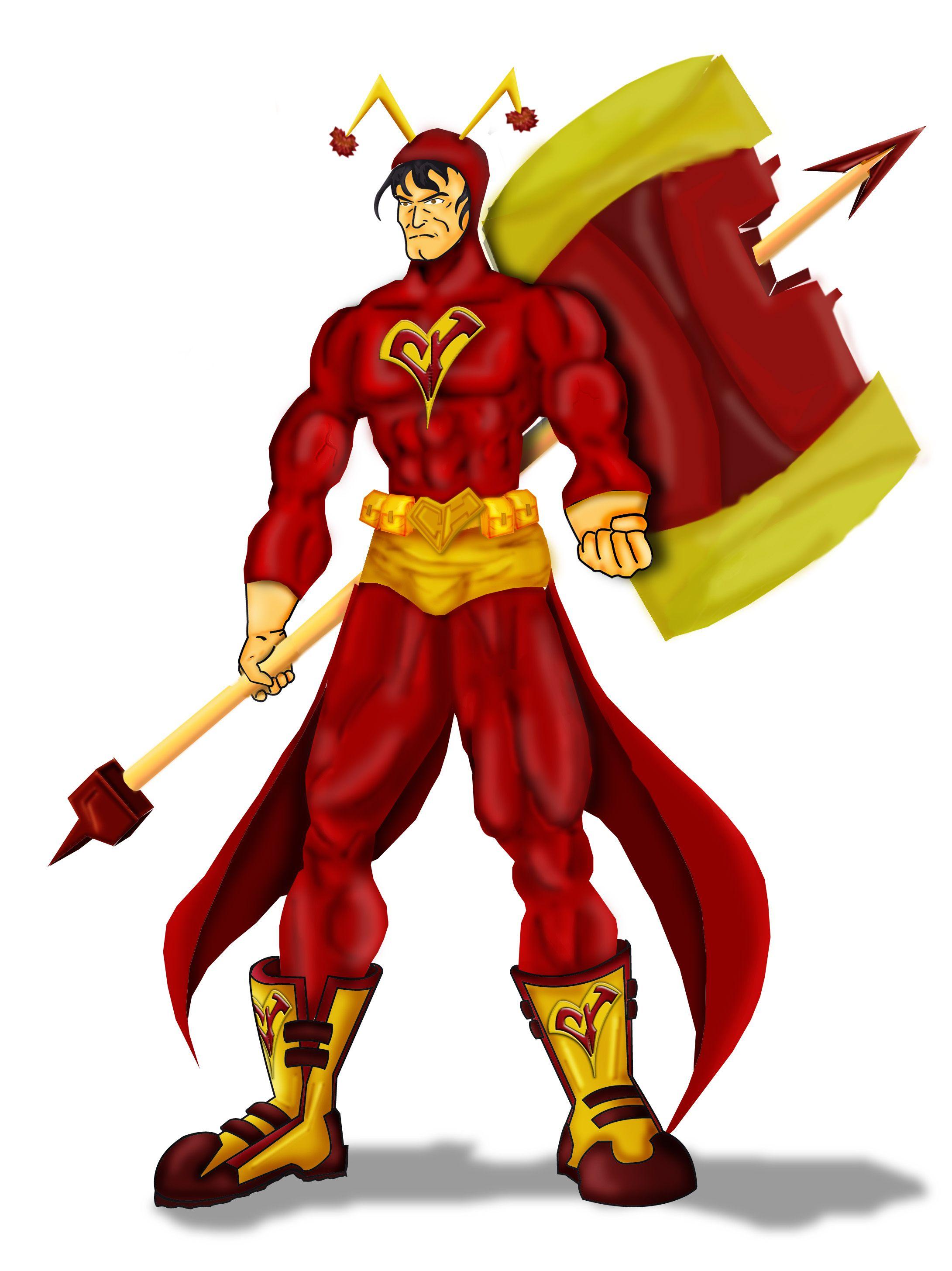 El Chapulin Colorado, fanart del personaje mexicano creado por Roberto  Gomez Bolaños #chespirito #chapulincolo…   Comic movies, Spiderman art,  Character design male
