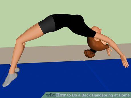 Image titled Do a Back Handspring at Home Step 12