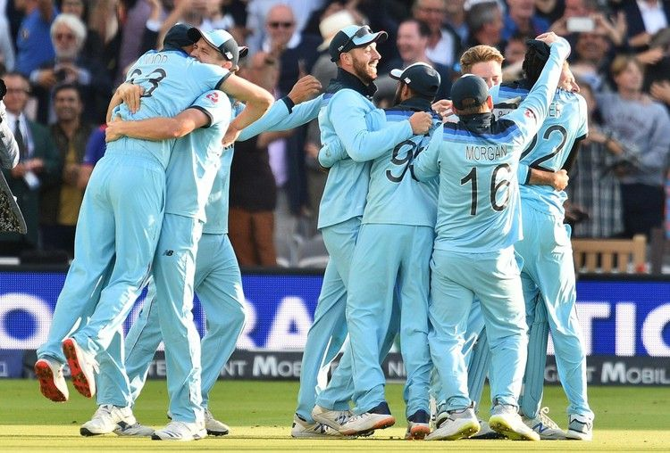 England Win The Cricket World Cup Hosts See Off New Zealand As Lord S Final Goes To Super Over Evening Standard Cricket World Cup World Cup Champions Cricket World Cup Winners