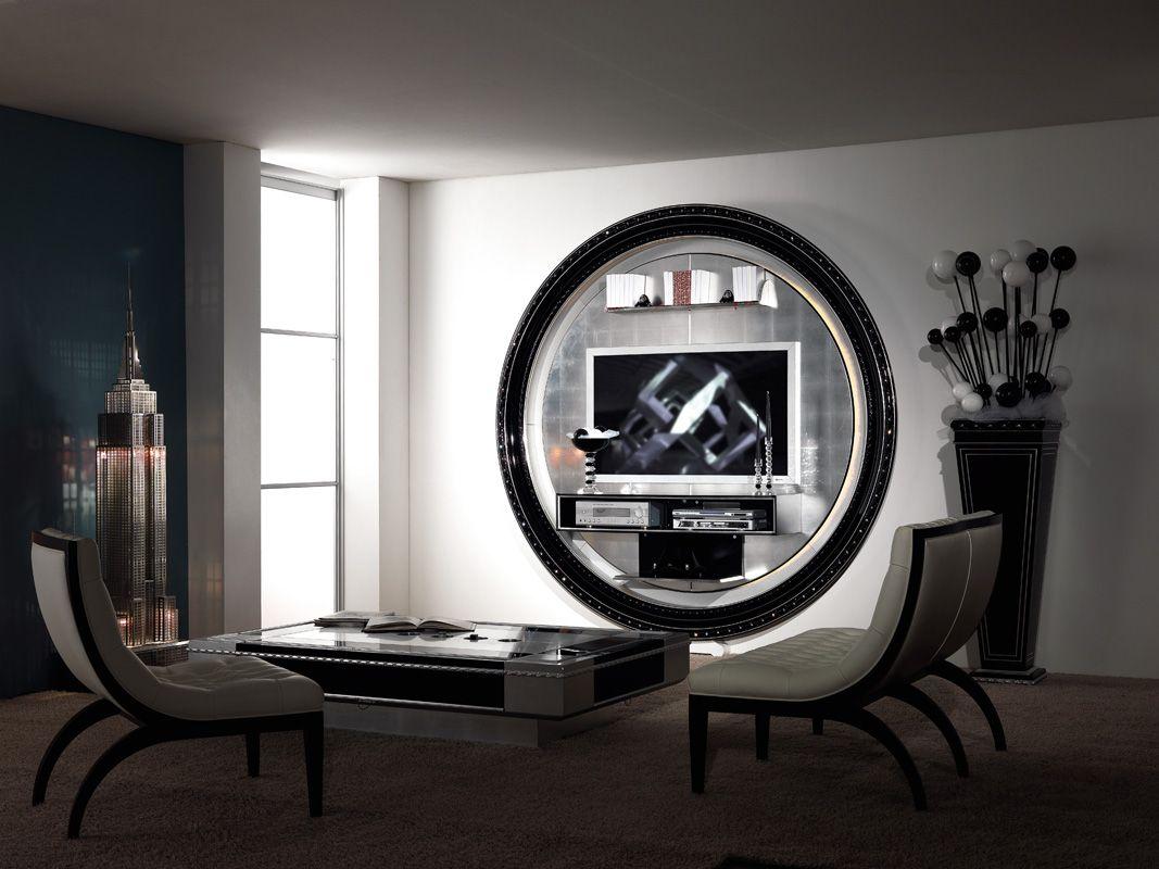 Home Tv Stand By Vismara Design Classic Living Room
