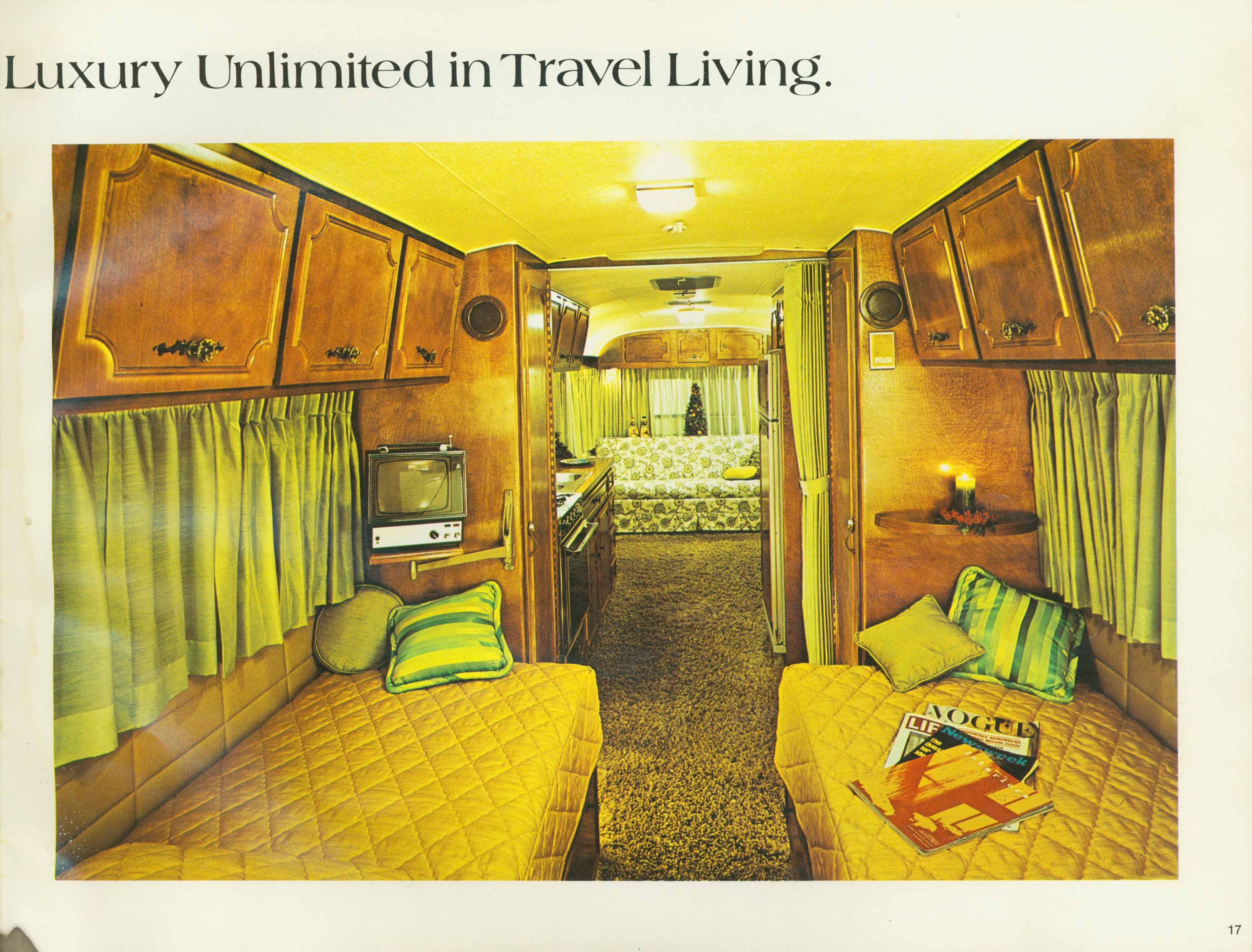 1972 holiday rambler camper interioris This is the one we