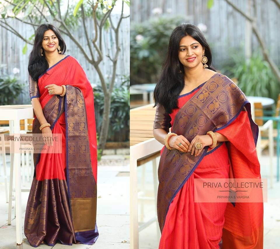 fe7b015104 This Silk Saree Trend That Every One Will Wear This Year | Silk ...