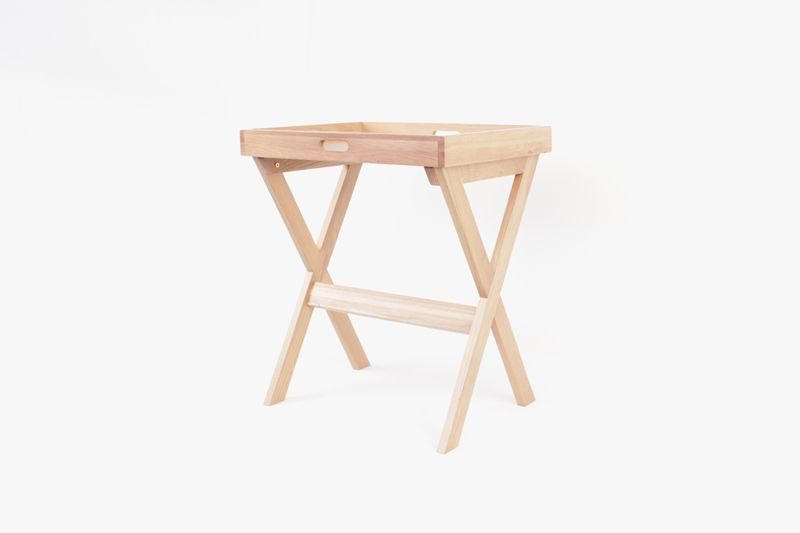 Lyra Tray Table (Solid Oak Wood)