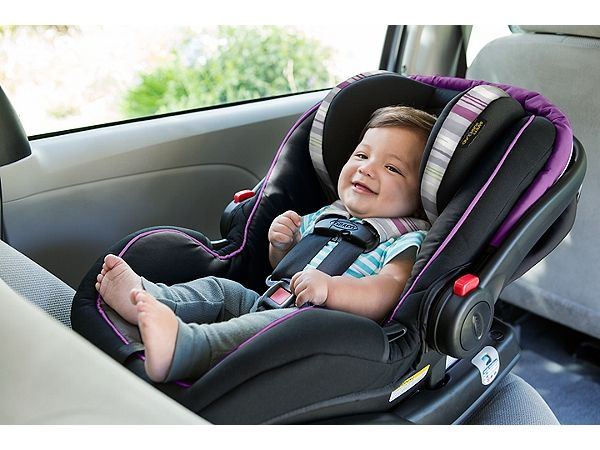Graco Snugride Snuglock 35 Elite Infant Car Seat Featuring Safety Surround Technology Lansing