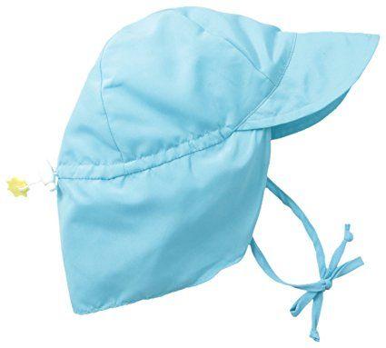 71d71bcac47 Amazon.com  i play. Baby   Toddler Flap Sun Protection Swim Hat ...