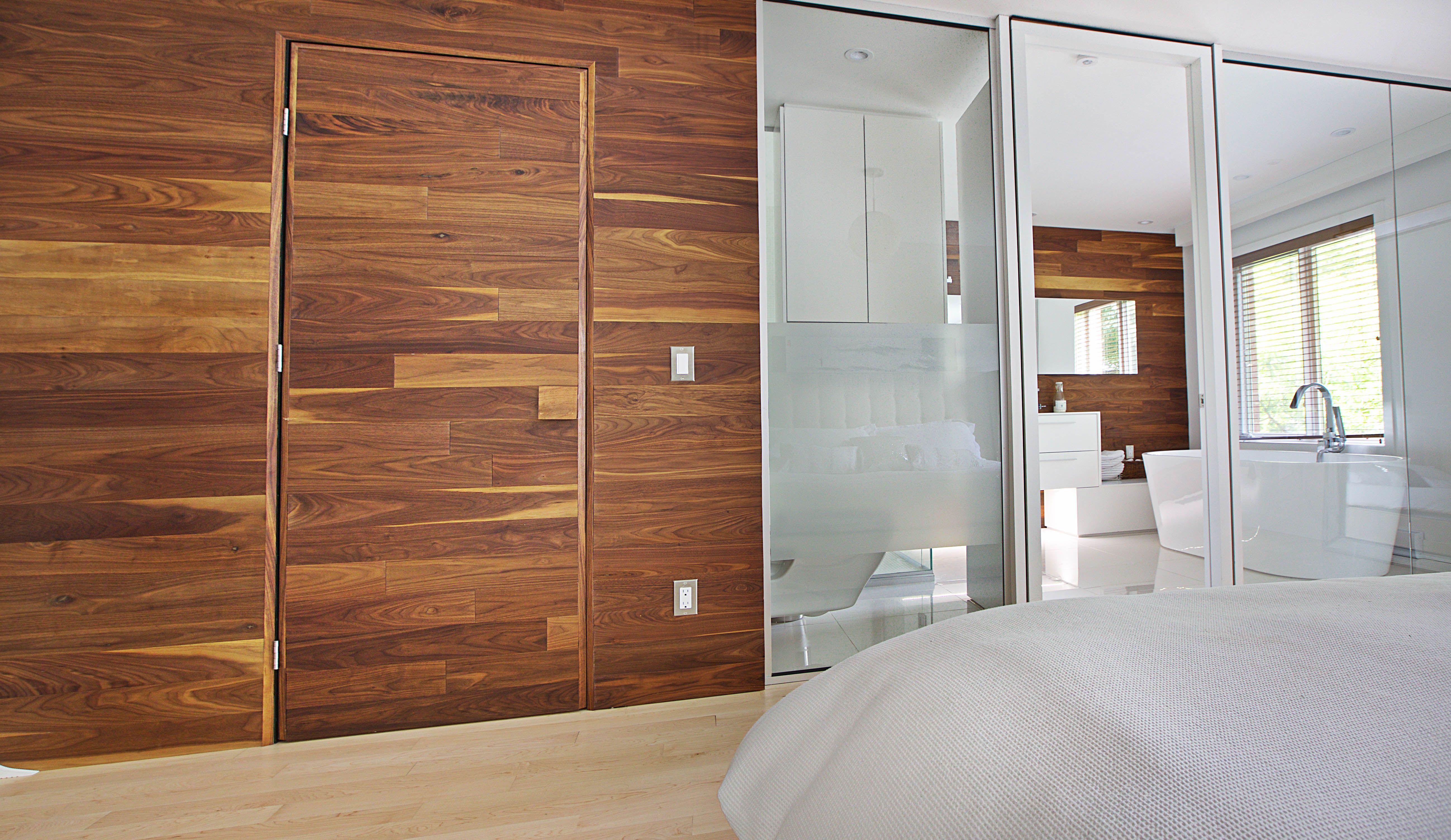 Architecture / Design / Chambre des maîtres / Salle de bain / Bois ...