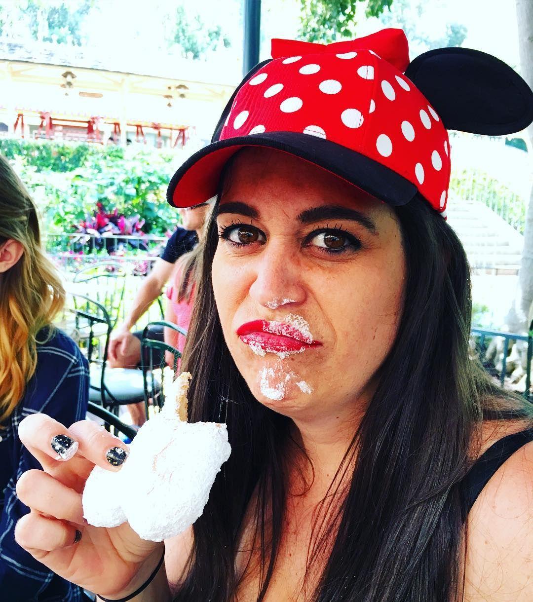 Beignet to the Face! #CantStappWontStapp #MickeyBeignet #FrenchQuarter #Disneyland by kenjie9