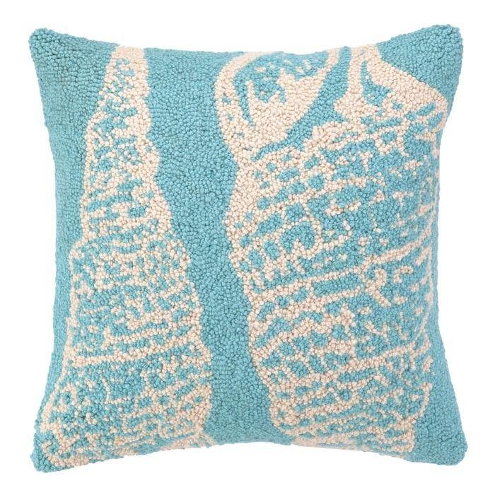 Double Seashell Pillow III Decoration Pinterest Pillows Interesting Seashell Pillows Decorative
