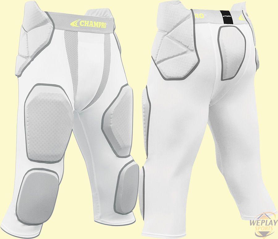 Champro sports manup 7pad integrated football girdle