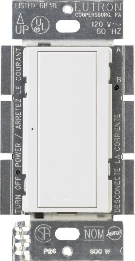 Maestro 8 Amp Multi Location Digital Switch White Digital Light White Wall Lights Compact Fluorescent Bulbs