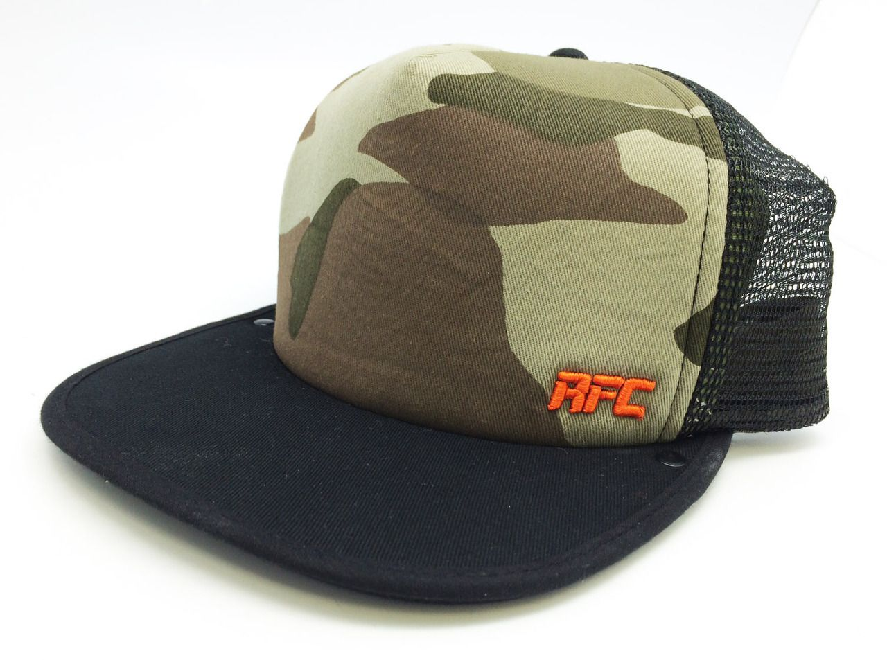 The Rally Flip Cap - RFC Camo Dry Erase Trucker Hat