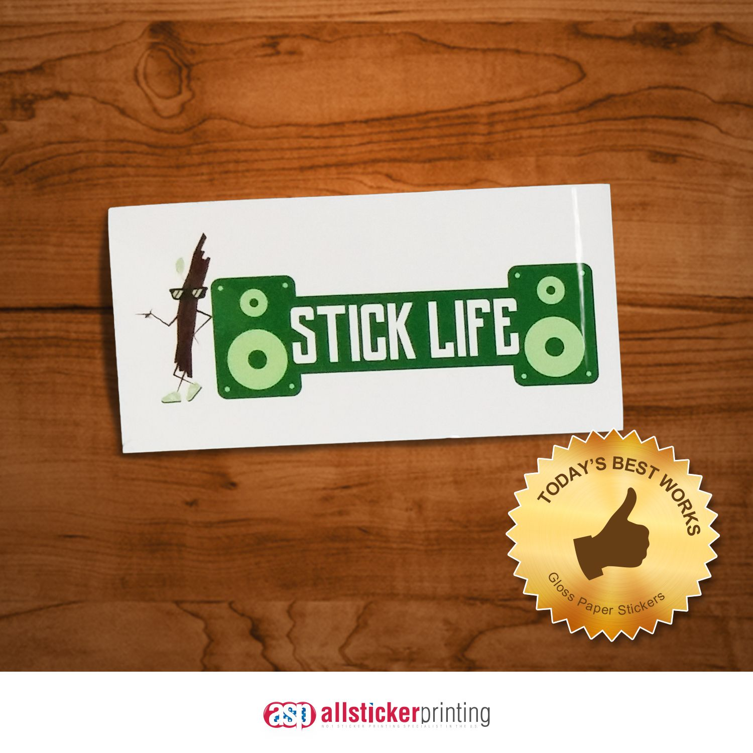 Efficient cost effective gloss paper stickers allstickerprinting sticker paper sticker printing