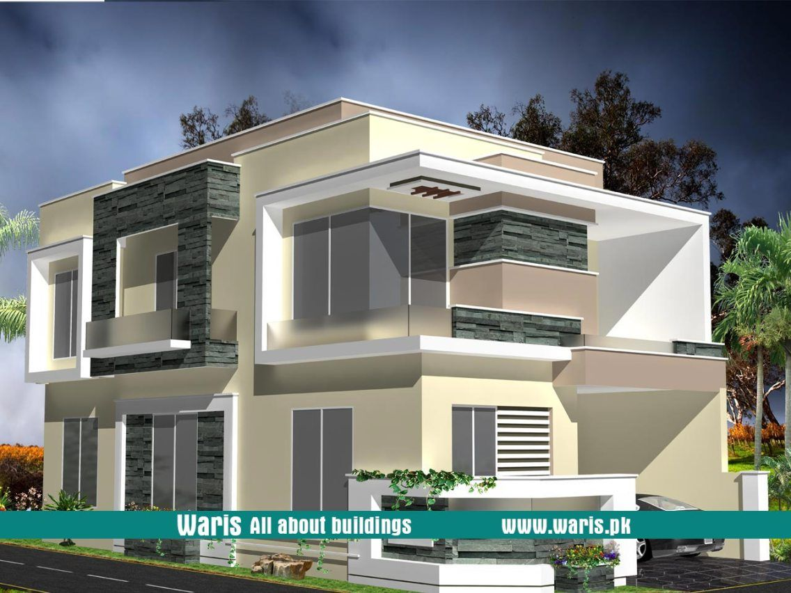 Waris marla house  view elevation  in dc colony gujranwala pakistan also rh pinterest