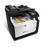 HP LaserJet Pro CM1415 Color Multifunction Printer series - Laser Multifunction Printers