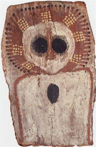 Wandjina spirit by Charlie Numbulmoore on artnet