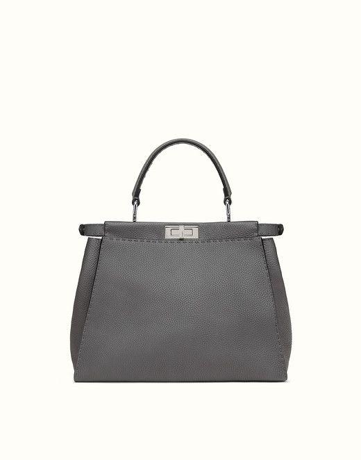 Peekaboo handbag in Roman leather Fendi ejm4n