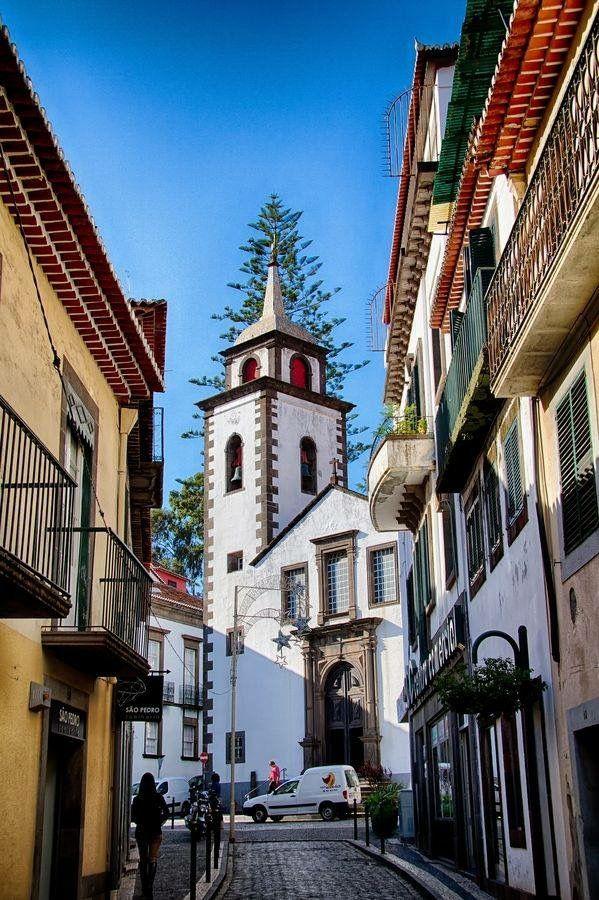 Funchal City Madeira Island Portugal Madeira Portugal