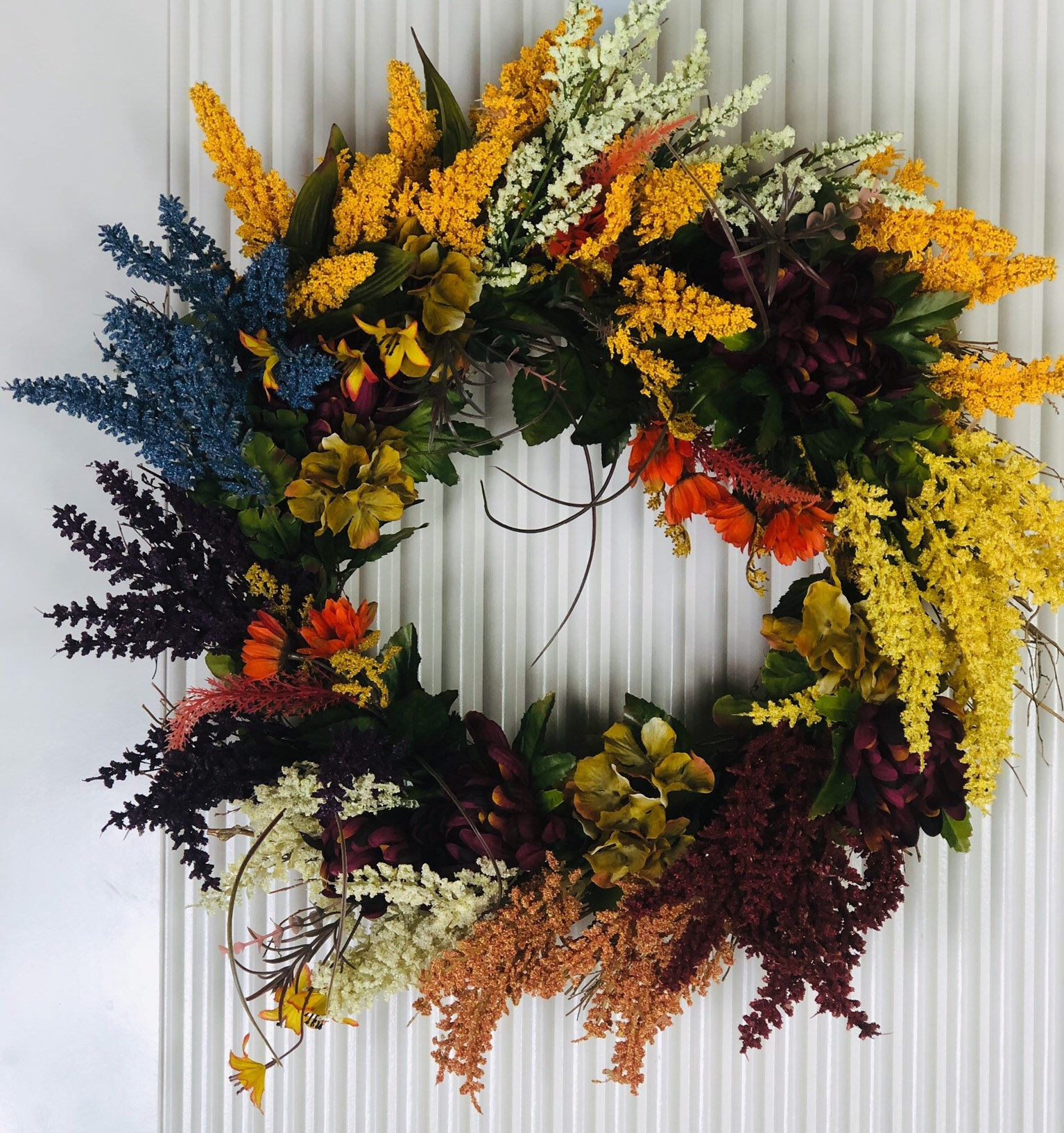 Fall Heather Wreath, Farmhouse Wreath for Front Door, Heather Wreath for Front Door, Fall Decor, Winter Heather Wreath, Thanksgiving Wreath images