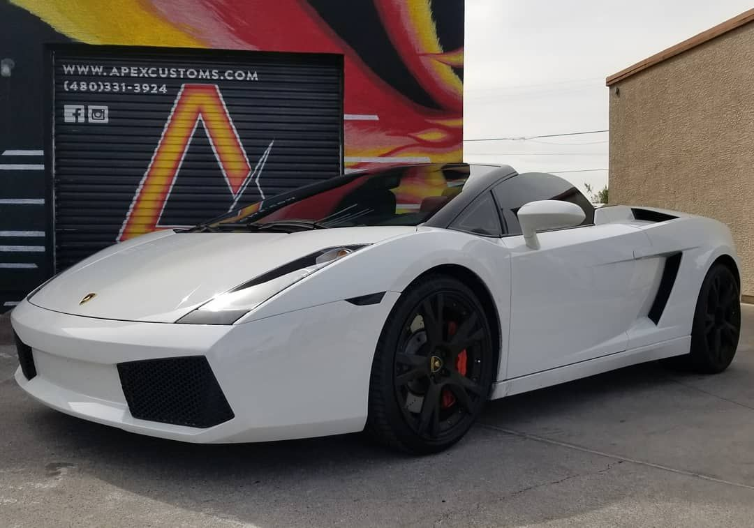 Lamborghini Gallardo Powder Coated Gloss Red Brake Calipers